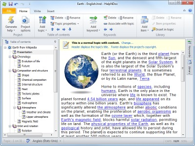HelpNDoc 5.3.0.351 screenshot