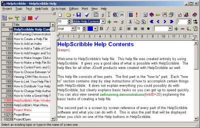 HelpScribble 7.8.3 screenshot