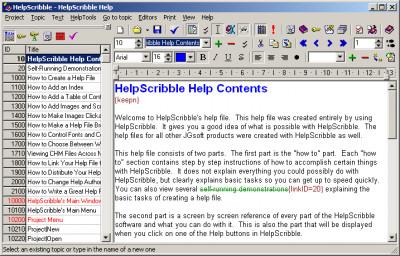 HelpScribble 7.8.3 screenshot