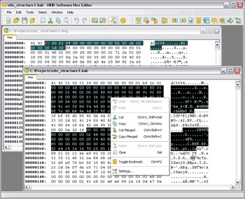 Hex Editor 3.12 screenshot