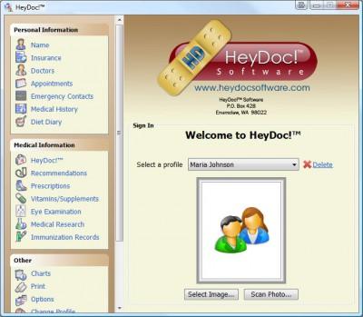 HeyDoc! 1.8 screenshot