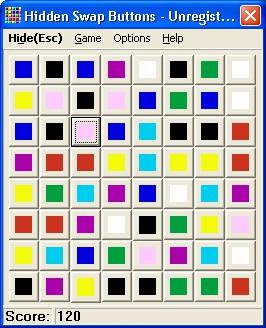 Hidden Swap Buttons 1.1 screenshot