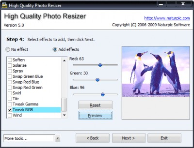 High Quality Photo Resizer 5.02 screenshot