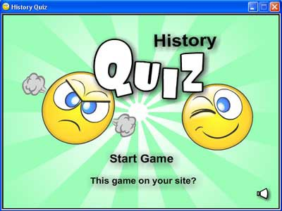 History Quiz 1.0 screenshot