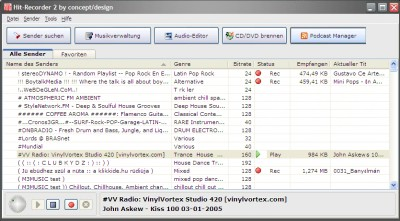 Hit-Recorder 3.6.0.0 screenshot