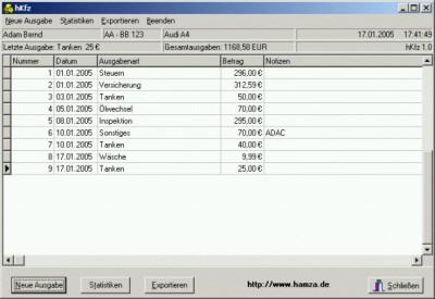 hKfz 1.0 screenshot