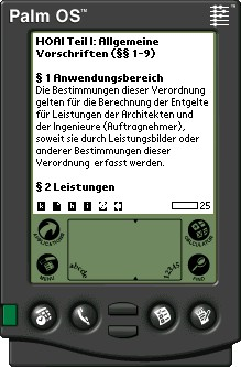 HOAI-Volltext für MobiPocket eBook 1 screenshot