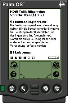 HOAI-Volltext für MobiPocket eBook 1 screenshot