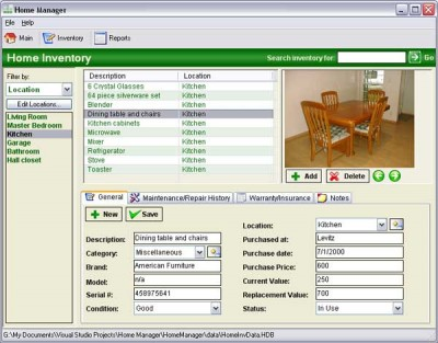 Home Manager 2007 3.0.2860 screenshot