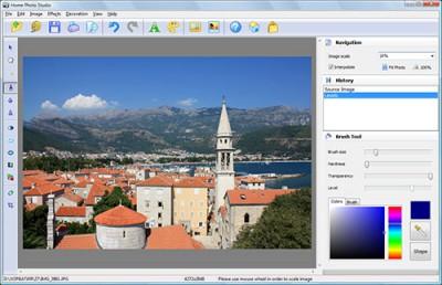 Home Photo Studio 10.0 screenshot