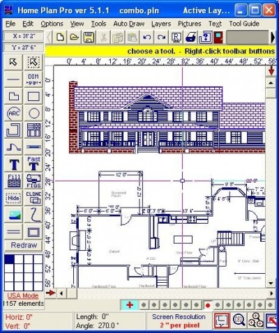 Home Plan Pro 5.7.2 screenshot