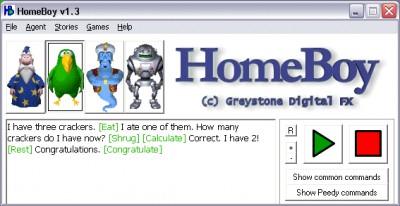 Homeboy 1.3 screenshot