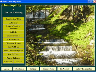 Homeopathy 5.6 screenshot