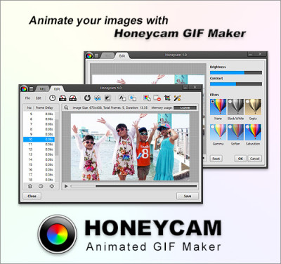 Honeycam GIF Maker 1.04 screenshot