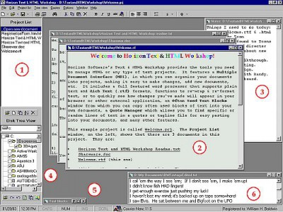 Horizon Text & HTML Project Workshop 1.46 screenshot