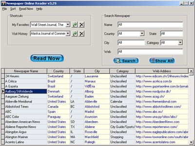 Hornsoft Online Newspaper 6.88 screenshot