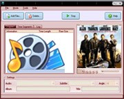 Hot-time DVD Converter 3.2.14 screenshot