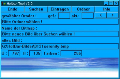 Hotbar-Tool 2.0 screenshot