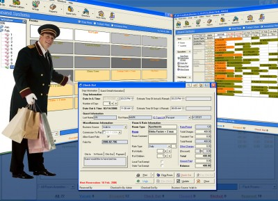 Hotel Software ASI FrontDesk Freeware 2007 screenshot