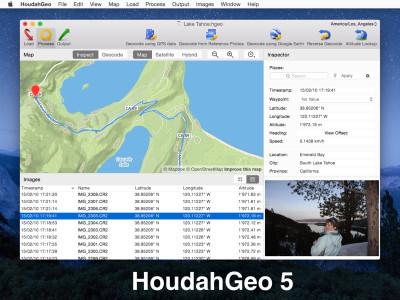 HoudahGeo 5.4 screenshot