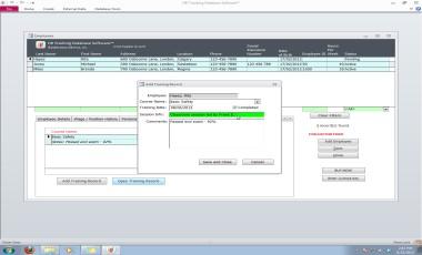 HR Tracking Database Software 2.4.6 screenshot