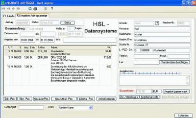 HSL-Rechnung 05.01.03 screenshot