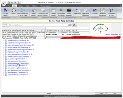 HSLAB Free HTTP Monitor 1.16.211.2 screenshot