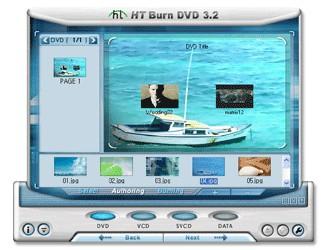 HT Burn DVD 3.2 screenshot