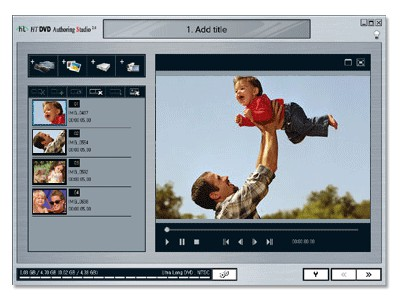 HT DVD Authoring Studio 2.0 screenshot