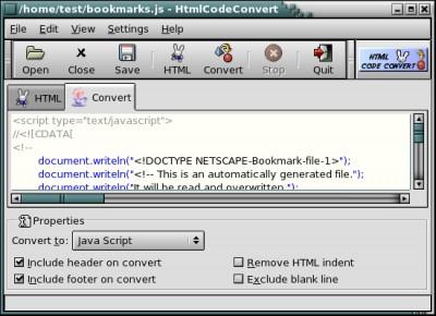 Html Code Convert 3.3.1 screenshot