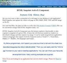 HTML Snapshot 2.1.2015.4 screenshot