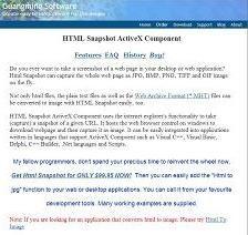 HTML Snapshot 2.1.2015.4 screenshot