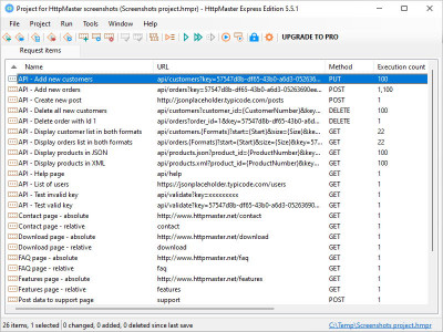 HttpMaster Express 4.8.0 screenshot