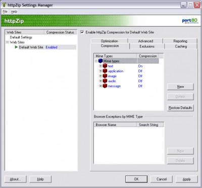 httpZip 4.0.7 screenshot