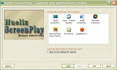 Huelix ScreenPlay Screen Recorder 2.0 screenshot