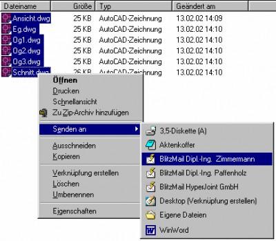 HyperJointBlitzMail 1.03.27 screenshot