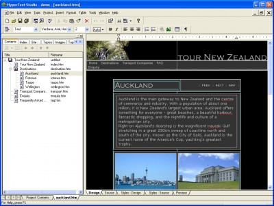 HyperText Studio, Team Edition 5.0 screenshot