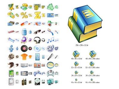 i-Commerce Icon Set 4.0 screenshot