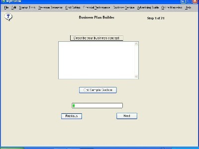 I-Need-A-Business-Plan.com 7.7 screenshot