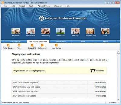 IBP SEO Software 12.2.12 screenshot