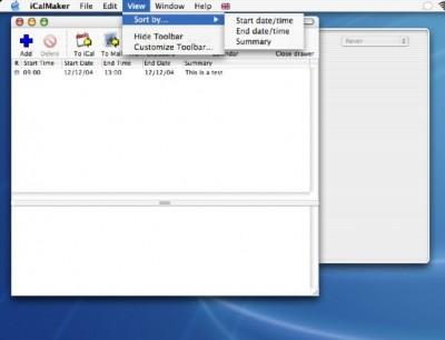 iCalMaker 1.9.1 screenshot