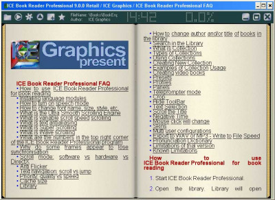 ICE Book Reader Professional 9.6.3 screenshot