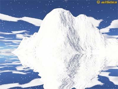 Iceberg Screensaver 1 screenshot