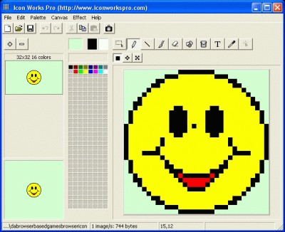 Icon Works Pro 1.56 screenshot