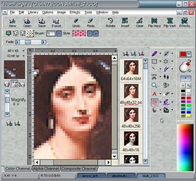 IconForge Icon Editing Tool Kit 7.20 screenshot