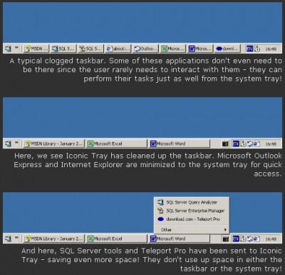 Iconic Tray 1.21 screenshot