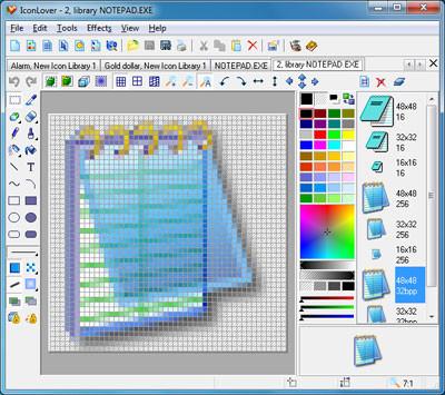 IconLover 5.45 screenshot