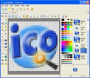 IconoMaker 3.32 screenshot