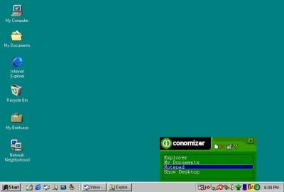 Iconomizer 2.52 screenshot