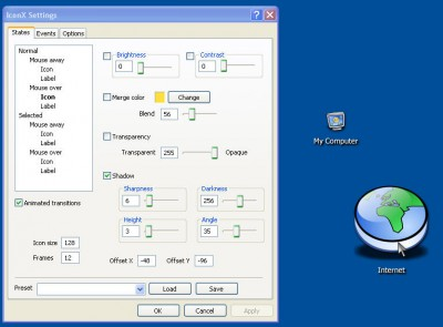 IconX 1.1 screenshot